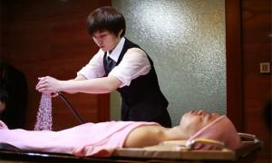 英语新闻:body cleansing service for deceased