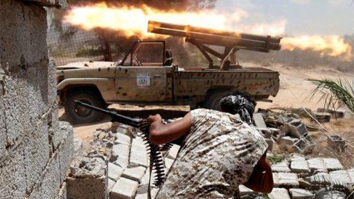 美军对利比亚境内伊斯兰国发动空袭