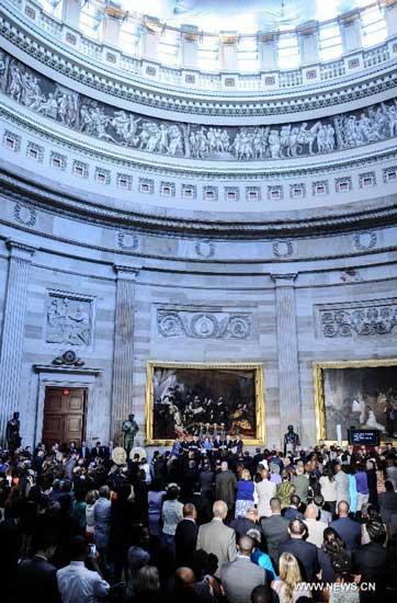 美国纪念人权法案50周年