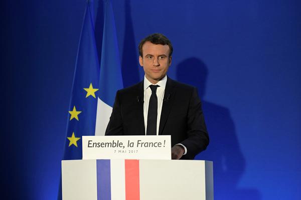 法国大选英文报道:马克龙当选法国新一任总统