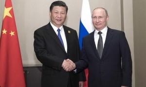 习近平与普京会晤的10个瞬间