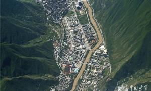 地震前后:地震给四川带来的毁坏