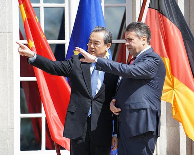 王毅:中国将在20国集团加强与德国的合作