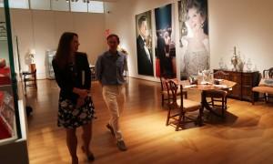 里根总统私人物品将拍卖 成对藏品见证第一夫妇真挚爱情