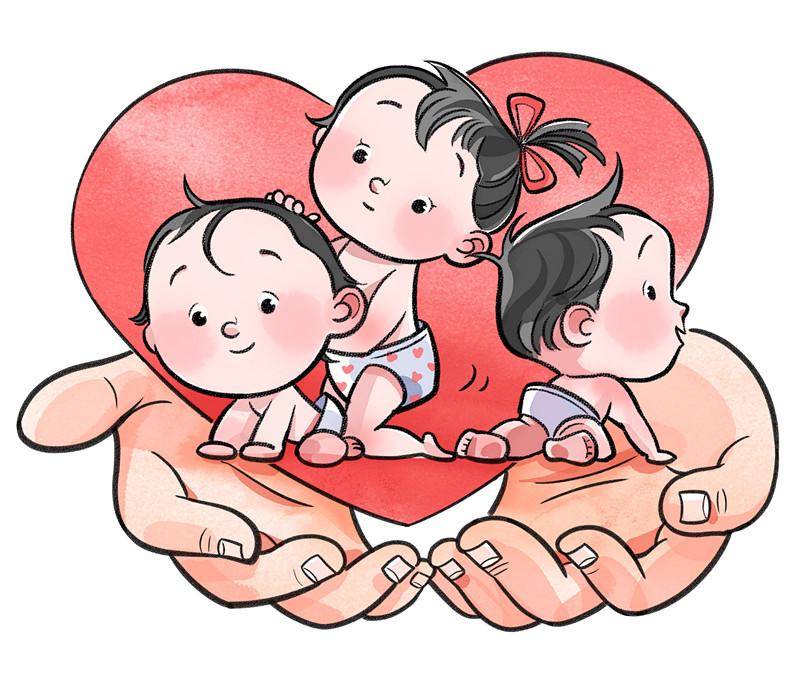 我国决定实施三孩生育政策